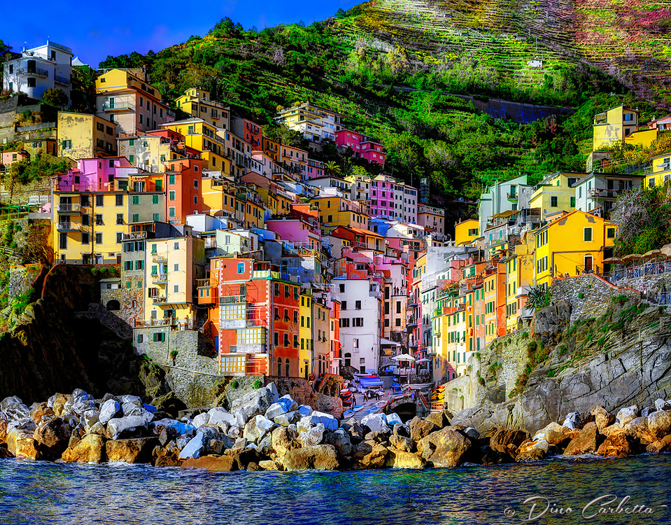 """Sailing the Cinque Terre ... Riomaggiore goodbye!""…<br />