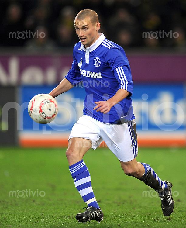Fussball 1. Bundesliga :  Saison   2010/2011   21. Spieltag  04.02.2011 Borussia Dortmund - FC Schalke 04 Peer Kluge (FC Schalke 04)