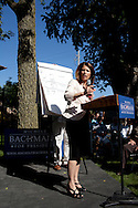 Republican presidential hopeful Rep. Michele Bachmann (R-MN) campaigns on Wednesday, July 20, 2011 in Norwalk, IA.