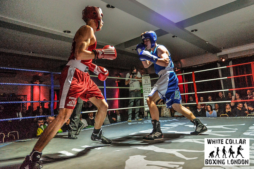 White Collar Boxing London presents Raise the Stakes at the London Irish Centre, Camden, London, England on Friday March 25, 2016. Picture by Dan Law/danlawphotography.com