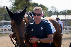 Skelton Nick, GBR, Big Star and groom<br /> Olympic Games Rio 2016<br /> © Hippo Foto - Dirk Caremans<br /> 19/08/16