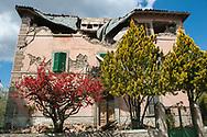 Prato, 13/04/2017: case danneggiate dal terremoto. <br /> &copy; Andrea Sabbadini