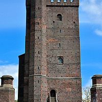 K&auml;rnan Fortress Tower in Helsingborg, Sweden<br /> The K&auml;rnan is all that remains of the original Helsingborg Castle that was built by King Eric VI of Denmark at the start of the 14th century.  The fortress held a strategic position to protect the narrow strait of the &Oslash;resund sound.  The citadel exchanged hands several times between Denmark and Sweden until most of the castle was demolished during the late 17th century. Yet this 115 foot tower has stood proudly for over 700 years.