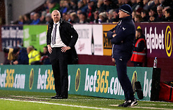 Burnley manager Sean Dyche and Leicester City manager Claudio Ranieri - Mandatory by-line: Robbie Stephenson/JMP - 31/01/2017 - FOOTBALL - Turf Moor - Burnley, England - Burnley v Leicester City - Premier League