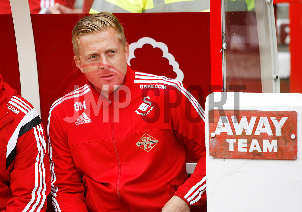 Swansea City Head Coach, Gary Monk before the match<br /> <br />  - Mandatory by-line: Jack Phillips/JMP - 25/07/2015 - SPORT - FOOTBALL - Nottingham - The City Ground - Nottingham Forest v Swansea - Pre-Season Friendly