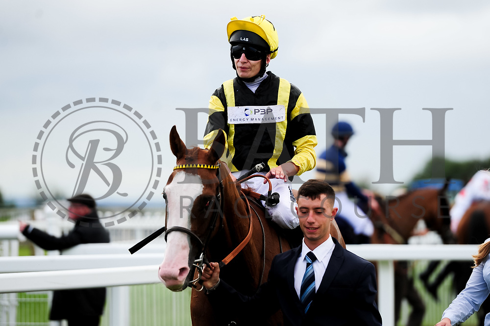 Ramatuelle ridden by Luke Morris and trained by Sir Mark Prescott Bt in the Sky Sports Racing Sky 415 Fillies' Handicap (Class 5) race. - Ryan Hiscott/JMP - 07/08/2019 - PR - Bath Racecourse - Bath, England - Race Meeting at Bath Racecourse