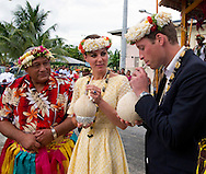 "CATHERINE, DUCHESS OF CAMBRIDGE AND PRINCE WILLIAM.Kate and William plant a coconut tree and drink coconut milk from a tree planted by the Queen in 1982, Tuvalu_18/09/2012.Mandatory credit photo: ©DIASIMAGES/NEWSPIX INTERNATIONAL..(Failure to credit will incur a surcharge of 100% of reproduction fees)..                **ALL FEES PAYABLE TO: ""NEWSPIX INTERNATIONAL""**..IMMEDIATE CONFIRMATION OF USAGE REQUIRED:.DiasImages, 31a Chinnery Hill, Bishop's Stortford, ENGLAND CM23 3PS.Tel:+441279 324672  ; Fax: +441279656877.Mobile:  07775681153.e-mail: info@newspixinternational.co.uk"