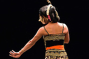 LONDON, UK, 20 October 2016, Rianto, a dancer from Banyumas, performing Indonesian cross gender, erotic  Dance of Lenger, Lilian Baylis Studio.  The production opens on 21 October.