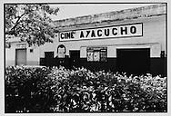 Fachada, Cine Ayacucho, Altagracia, estado Miranda.....