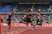 Men's 110m Hurdles, Heat 2 during the Muller Grand Prix 2018 at Alexander Stadium, Birmingham, United Kingdom on 18 August 2018. Picture by Toyin Oshodi.
