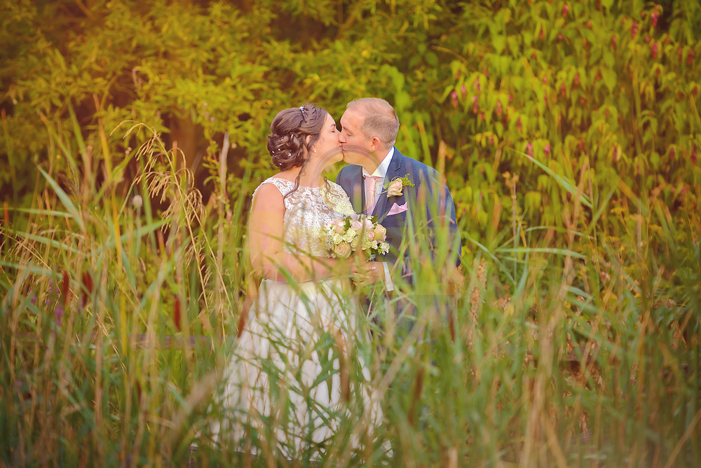 Summer wedding at The Marston Forest Centre
