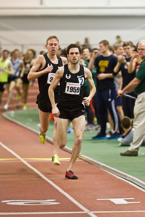 Boston University Terrier Invitational Indoor Track Meet: Dorian Ulrey paces Galen Rupp, Oregon Project, wins Elite Mile 3:50.92