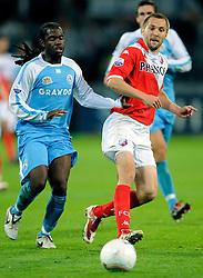 29-08-2009 VOETBAL: FC UTRECHT - SPARTA: UTRECHT<br /> Utrecht wint met 2-0 van Sparta / Michael Silberbauer<br /> ©2009-WWW.FOTOHOOGENDOORN.NL