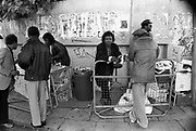 Drinks stall, Notting Hill Carnival, London, 1989