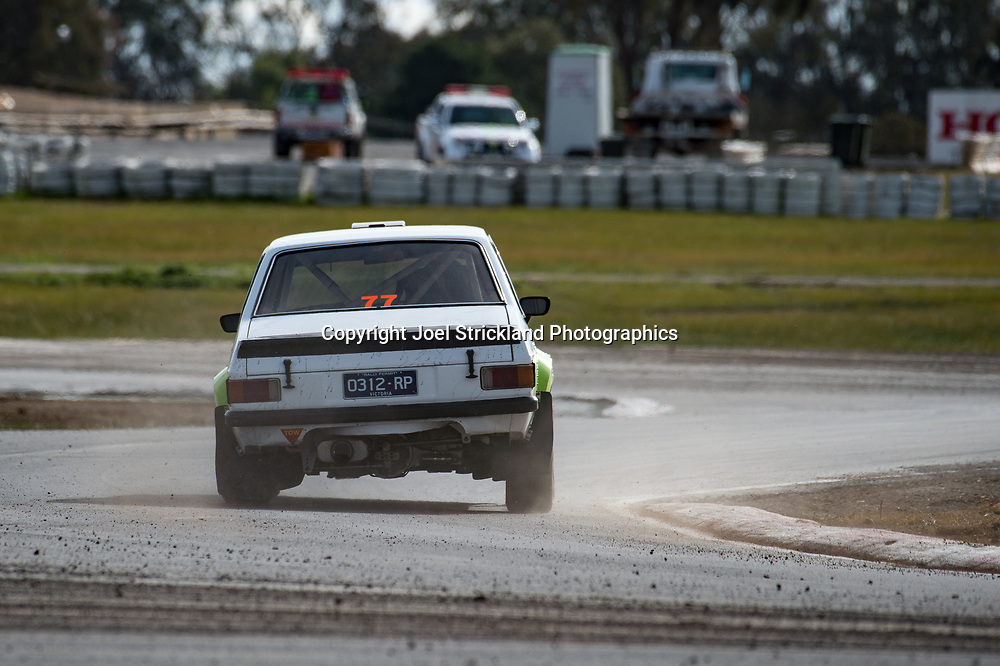 Mike Conway - Ford Escort MK2 - Rallycross Australia - Winton Raceway - 16th July 2017