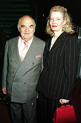 LORD & LADY WEIDENFELD at a party in London<br />  on 30th May 2000.  OER 47<br /> © Desmond O'Neill Features:- 020 8971 9600<br />    10 Victoria Mews, London.  SW18 3PY <br /> www.donfeatures.com   photos@donfeatures.com<br /> MINIMUM REPRODUCTION FEE AS AGREED.<br /> PHOTOGRAPH BY DOMINIC O'NEILL