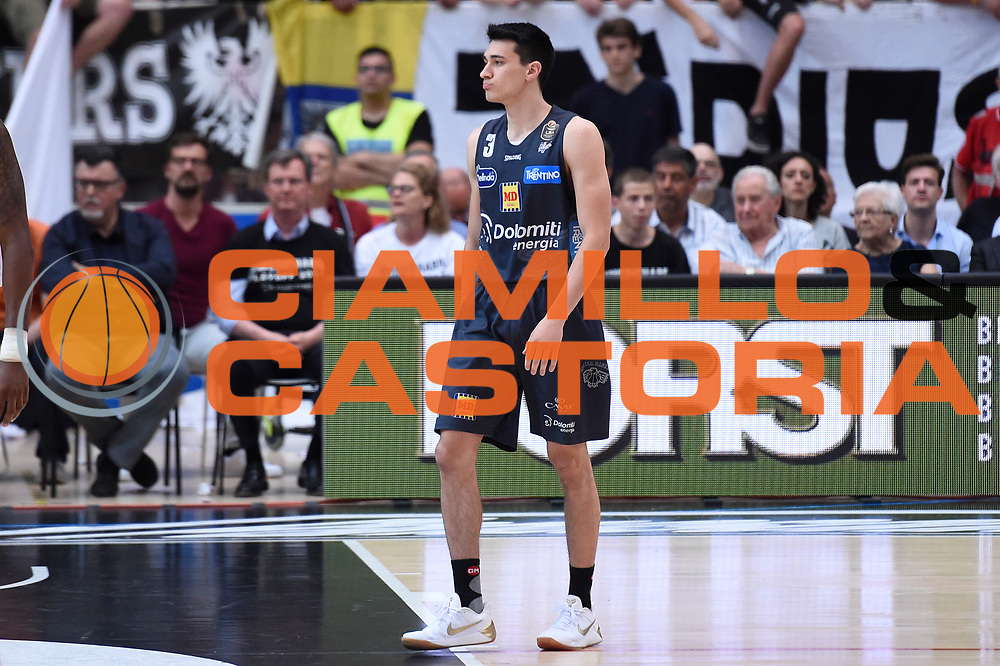 Andrea Bernardi<br /> Dolomiti Energia Aquila Basket Trento - Umana Reyer Venezia<br /> Lega Basket Serie A 2016/2017<br /> Playoff, finale gara 3<br /> Trento, 14/06/2017<br /> Foto M.Ceretti / Ciamillo-Castoria