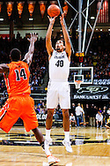 January 2nd, 2014:  Colorado Buffaloes sophomore forward Josh Scott (40) pulls up for a shot attempt in the first half of the NCAA Basketball game between the Oregon State Beavers and the University of Colorado Buffaloes at the Coors Events Center in Boulder, Colorado