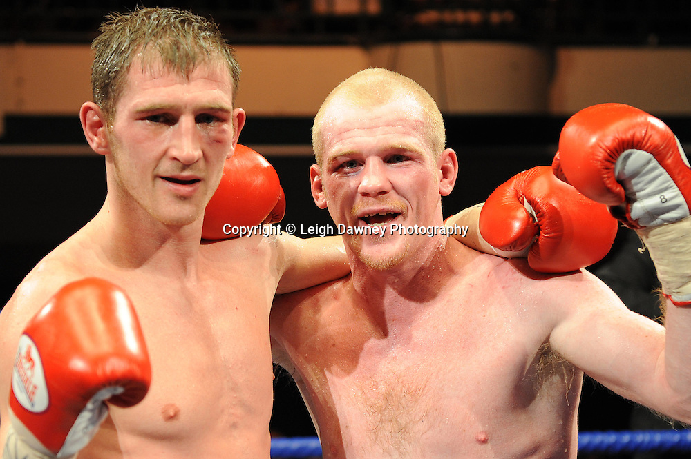 Lenny Daws defeats Jason Cook at York Hall, Bethnal Green, London on the 12th February 2010 Matchroom Sport. Photo credit: © Leigh Dawney