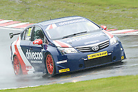 #20 James Cole (GBR) - United Autosports Toyota Avensis during second practice for the BTCC  at Oulton Park, Little Budworth, Cheshire, United Kingdom. June 07 2014. World Copyright Peter Taylor/PSP. Copy of publication required for printed pictures.  Every used picture is fee-liable. http://archive.petertaylor-photographic.co.uk