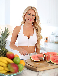 EXCLUSIVE: RHOC alum Gretchen Rossi shows off her incredible figure as she enjoys a work out at her Costa Mesa,CA home. The former Real Housewife looked stunning as she put herself through her paces boxing and lifting weights before heading inside to whip up some healthy fruit smoothies. 05 Feb 2018 Pictured: Gretchen Rossi. Photo credit: MOVI Inc. / MEGA TheMegaAgency.com +1 888 505 6342