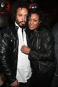 7 April 2011- New York,  NY- l to r: Bazaar Royale and DJ Beverly Bond at Uptown Magazine Presents the National Action Network's Executive Director's Reception held at the The Empire Room in the Empire State Building on April 7, 2011 in New York City. Photo Credit: Terrence Jennings