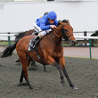 Asifa and William Buick winning the 12.50 race
