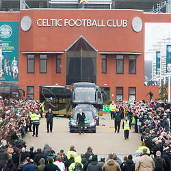 The funeral of former footballer Tommy Gemmell