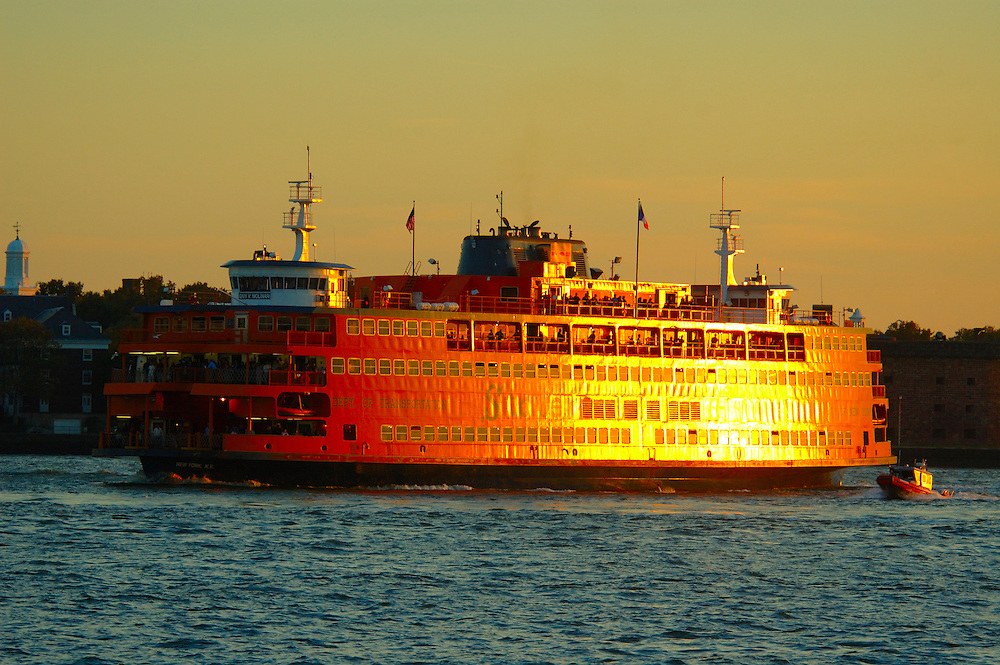 Staten Island Ferry, Manhattan, New York, New York, USA