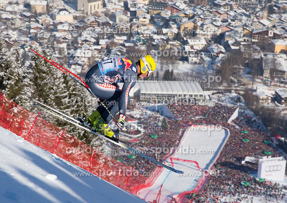 26.01.2013, Streif, Kitzbuehel, AUT, FIS Weltcup Ski Alpin, Abfahrt, Herren, im Bild Ivica Kostelic (CRO) // Ivica Kostelic of Croatia in action during mens Downhill of the FIS Ski Alpine World Cup at the Streif course, Kitzbuehel, Austria on 2013/01/26. EXPA Pictures © 2013, PhotoCredit: EXPA/ Johann Groder