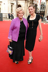 CAMILLA RUTHERFORD and her mother ELIZABETH at the Royal Academy of Art Summer Exhibition Preview Party on 4th June 2008.<br />