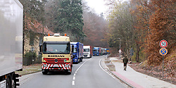 08.11.2010, Castortransport 2010, Dannenberg, GER, Rueckstau in Goehrde Richtung Dannenberg, EXPA Pictures © 2010, PhotoCredit: EXPA/ nph/  Kohring+++++ ATTENTION - OUT OF GER +++++