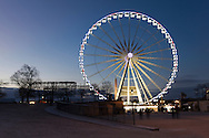 Grand wheel from the garden of Tuilleries, Paris, Ile-de-france, France