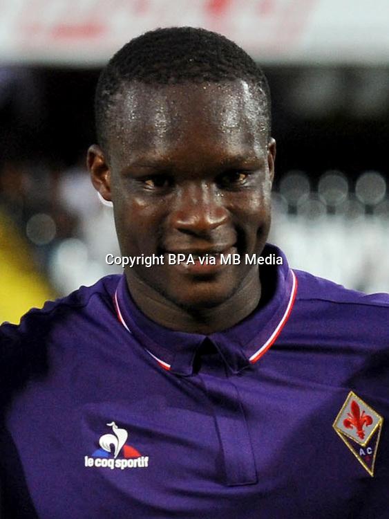Italian League Serie A -2016-2017 / <br /> ( ACF Fiorentina ) - <br /> Babacar El Hadji Khouma &quot; Babacar &quot;