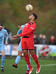 RENE HOWE  KETTERING TOWN, Kettering Town v Slough Town, Evostick South Premier League Latimer Park, Saturday 21st October 2017 Score 0-0 Att 824.