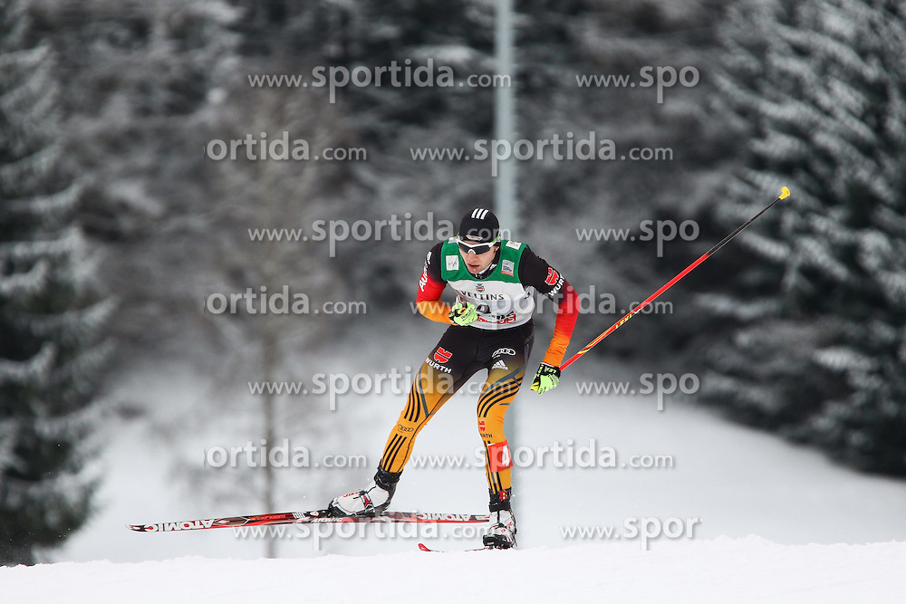 30.01.2015, Langlaufzentrum, Lago di Tesero, ITA, FIS Weltcup Nordische Kombination, Val di Fiemme, Langlauf, im Bild Wolfgang Boesl (GER) // during Cross Country of the FIS Nordic Combined World Cup Val di Fiemme at the Langlaufzentrum in Lago di Tesero, Italy on 2015/01/30. EXPA Pictures © 2015, PhotoCredit: EXPA/ Alice Russolo