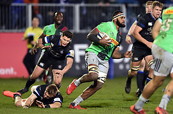 Semi Kunatani of Harlequins goes on the attack - Mandatory byline: Patrick Khachfe/JMP - 07966 386802 - 10/01/2020 - RUGBY UNION - The Recreation Ground - Bath, England - Bath Rugby v Harlequins - Heineken Champions Cup