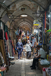 Market stalls in the Armenian quarter of the Old City of Jerusalem. From a series of travel photos taken in Jerusalem and nearby areas. Photo date: Thursday, August 2, 2018. Photo credit should read: Richard Gray/EMPICS