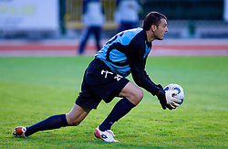 Goalkeeper of Rudar Boban Savic at 1st Round of Europe League football match between NK Rudar Velenje (Slovenia) and Trans Narva (Estonia), on July 9 2009, in Velenje, Slovenia. Rudar won 3:1 and qualified to 2nd Round. (Photo by Vid Ponikvar / Sportida)