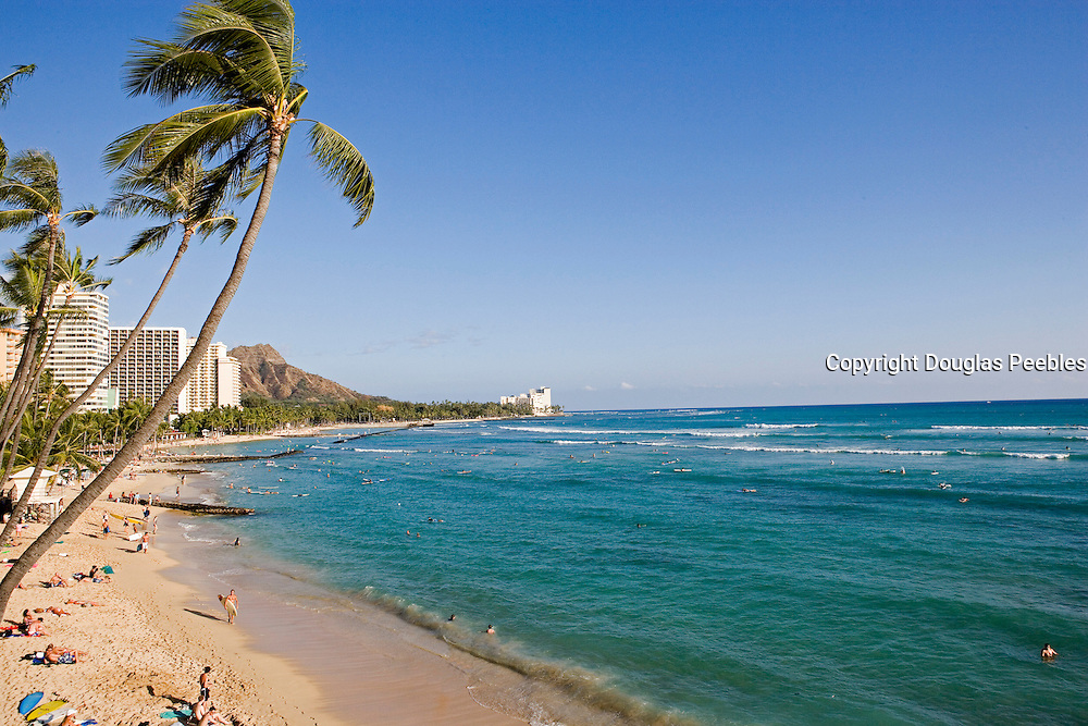 Waikiki Beach, Waikiki, Oahu, Hawaii<br />