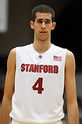 November 10, 2010; Stanford, CA, USA;  Stanford Cardinal forward Stefan Nastic (4) at the free throw line against the Cal State Monterey Bay Otters during the first half at Maples Pavilion.  The Cardinal defeated the Otters 87-56.