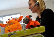 29/03/12 - CLERMONT FERRAND - PUY DE DOME - FRANCE - Entreprise BABYMOOV, concepteur d objets pour la puericulture - Photo Jerome CHABANNE