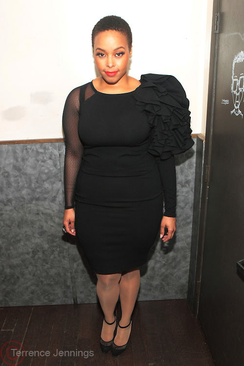 New York, NY- FEBRUARY 28:  Recording Artist Chrisette Michelle at the Robert Glasper Album Release Party for ' Black Radio '  Presented by Giant Step & Produced by Jill Newman Productions and Second Son Productions held at Highline Ballroom on February 28, 2012 in New York City. Photo Credit: Terrence Jennings