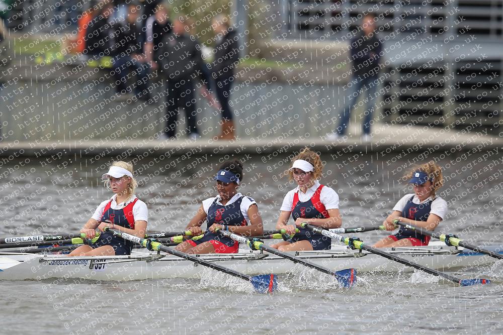 2012.09.29 Wallingford Long Distance Sculls 2012. Division 3. W.J16A 4x-. Sir William Borlase Grammar School Boat Club.