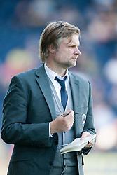 Steven Pressley, Falkirk manager..Falkirk v Raith Rovers, 18/8/2012..