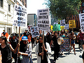 NYC Rally and march for Akai Gurley in Brooklyn-28th May 2016