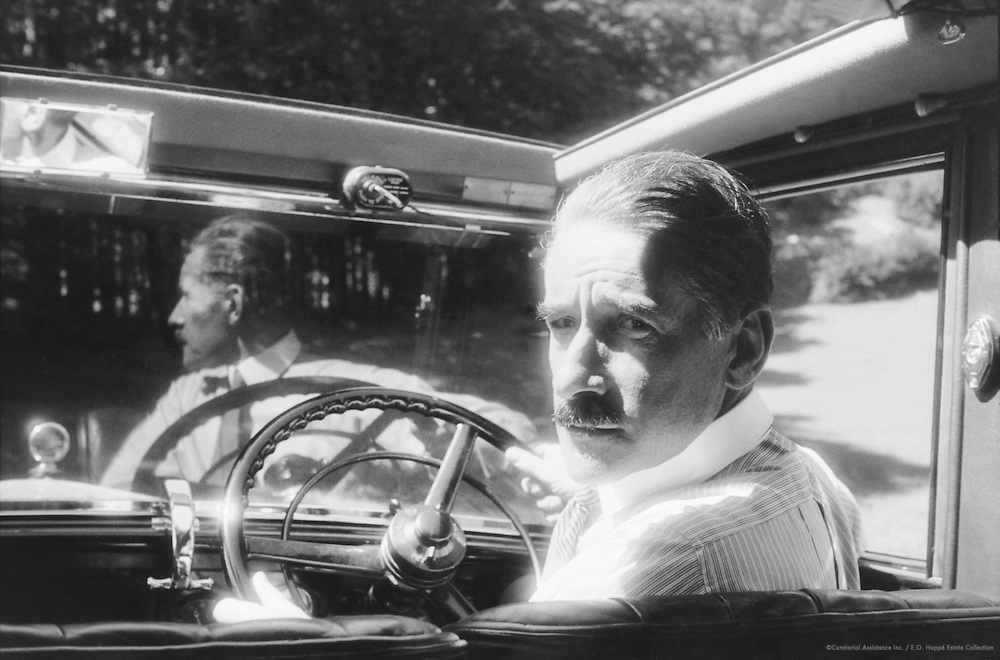 E.O. Hoppé, Driving in Bavaria, 1933