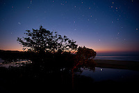 Night Sky (with Orion and the Pleides), Mbotyi River, and Indian Ocean<br /> <br /> shot in South Africa