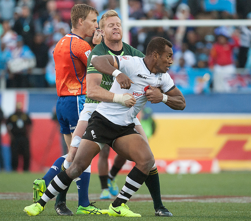 South Africa win the USA Sevens,  Round Five of the World Rugby HSBC Sevens Series in Las Vegas, Nevada, March 5, 2017. <br /> <br /> Jack Megaw for USA Sevens.<br /> <br /> www.jackmegaw.com<br /> <br /> jack@jackmegaw.com<br /> @jackmegawphoto<br /> [US] +1 610.764.3094<br /> [UK] +44 07481 764811