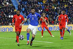 PATRICK CUTRONE (ITALY)     <br /> Football friendly match Italy vs England u21<br /> Ferrara Italy November 15, 2018<br /> Photo by Filippo Rubin